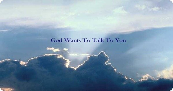 God Talks To You Picture JPG